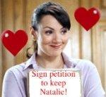 Keep martine mccutcheon as natalie in love actually 2