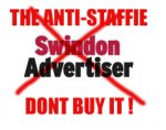 BOYCOTT SWINDON ADVER & OTHER ANTI-STAFFIE NEWSPAPERS THAT LIE
